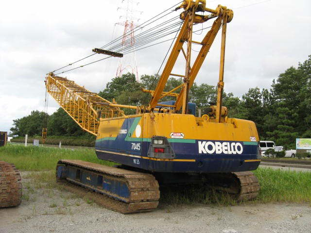 Kobelco 7045  Lattice boom 24m 1990 Year  5383 hr