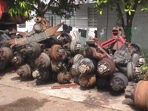 Used Front /Rear Axles