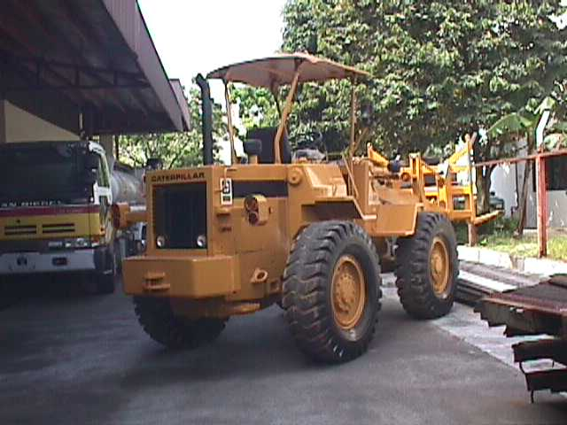 Cat 910 Wheel LoaderYear: 1988