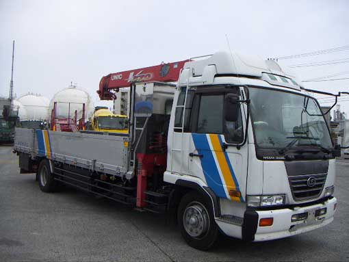 PK252NZ-00 up with Unic crane Year 2000